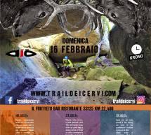 TRAIL DEI CERVI – MARACALAGONIS & SINNAI – DOMENICA 16 FEBBRAIO 2020