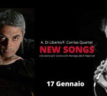 DILIBERTO & CORRIAS – NEW SONGS – BFLAT – CAGLIARI  -VENERDI 17 GENNAIO 2020