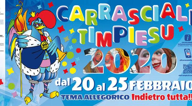 CARRASCIALI TIMPIESU – TEMPIO – 20-25 FEBBRAIO 2020