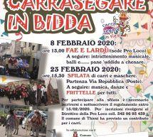 CARNEVALE 2020 A THIESI – 8-23 FEBBRAIO 2020