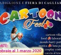 CARTOON FEST – FIERA INTERNAZIONALE DELLA SARDEGNA – CAGLIARI – 28 FEBBRAIO -1 MARZO 2020