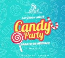 CANDY PARTY – CLUB 84 – CAGLIARI – SABATO 25 GENNAIO 2020