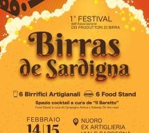 1° EDIZIONE BIRRAS DE SARDIGNA – NUORO – 14-15 FEBBRAIO 2020
