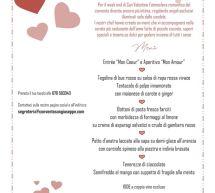 CENA DI SAN VALENTINO AL CONVENTO SAN GIUSEPPE – CAGLIARI – VENERDI 14 FEBBRAIO 2020