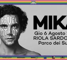 MIKA IN CONCERTO – PARCO DEI SUONI – RIOLA SARDO – GIOVEDI 6 AGOSTO 2020