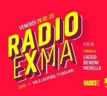 RADIO EXMA'  – CAGLIARI – VENERDI 28 FEBBRAIO 2020