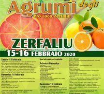 SAGRA DEGLI AGRUMI – ZERFALIU – 15-16 FEBBRAIO 2020