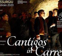 CANTIGOS IN CARRELA – SANTU LUSSURGIU – SABATO 15 FEBBRAIO 2020