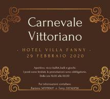 CARNEVALE VITTORIANO – VILLA FANNY – CAGLIARI – SABATO 29 FEBBRAIO 2020