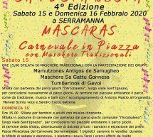 SA FESTA NOSTA- CARNEVALE 2020 – SERRAMANNA-15-16 FEBBRAIO 2020
