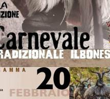 2° CARNEVALE TRADIZIONALE – ILBONO – GIOVEDI 20 FEBBRAIO 2020