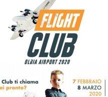 FLIGHT CLUB -AEROPORTO DI OLBIA- 7 FEBBRAIO-8 MARZO 2020