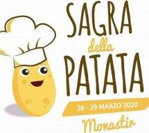 SAGRA DELLA PATATA- MONASTIR – 28-29 MARZO 2020