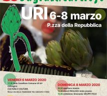 RINVIATO – 30° SAGRA DEL CARCIOFO – URI – 6-8 MARZO 2020