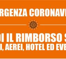 EMERGENZA CORONAVIRUS, GUIDA AL RIMBORSO SPESE