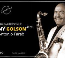 BENNY GOLSON 4TET – BFLAT – CAGLIARI – SABATO 7 MARZO 2020