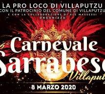 ANNULLATO – CARNEVALE SARRABESE -VILLAPUTZU – DOMENICA 8 MARZO 2020