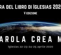 FIERA DEL LIBRO  -IGLESIAS – 22-25 APRILE 2020