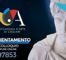 OPEN DAY – ACCADEMIA D'ARTE – CAGLIARI – DOMENICA 21 GIUGNO 2020
