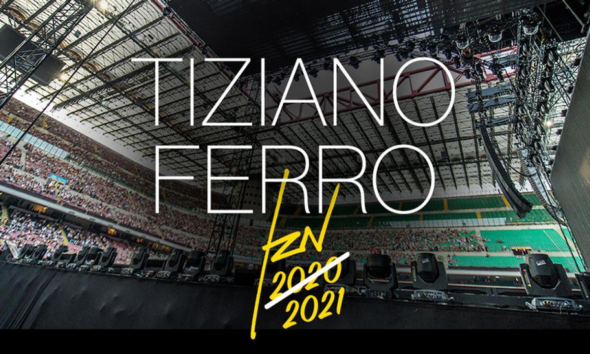 tiziano ferro tour 2021