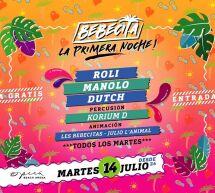 BEBECITA LATIN MUSIC SHOW – LA PRIMERA NOCHE – OPERA BEACH ARENA – QUARTU SANT'ELENA- MARTEDI 14 LUGLIO 2020