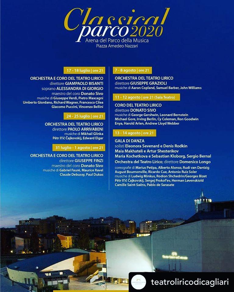 CLASSICAL PARCO PROGRAMMA
