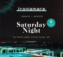 SATURDAY NIGHT – FRONTEMARE – QUARTU SANT'ELENA – SABATO 1 AGOSTO 2020