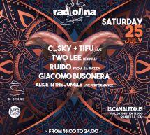 RADIOLINA SUNSET – IS CANALEDDUS B STONE – QUARTU SANT'ELENA – SABATO 25 LUGLIO 2020