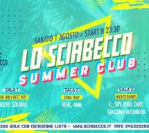 SATURDAY NIGHT -SCIABECCO – VILLASIMIUS – SABATO 1 AGOSTO 2020