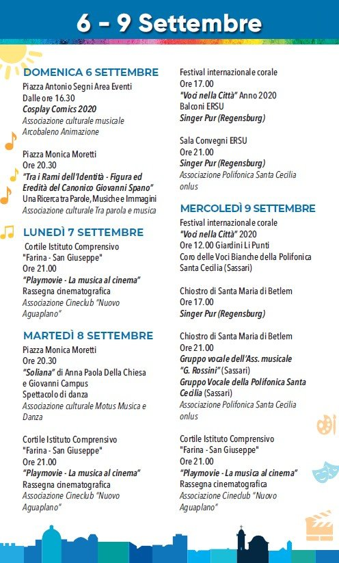 eventi_estate_sassari_06_09_settembre_2020