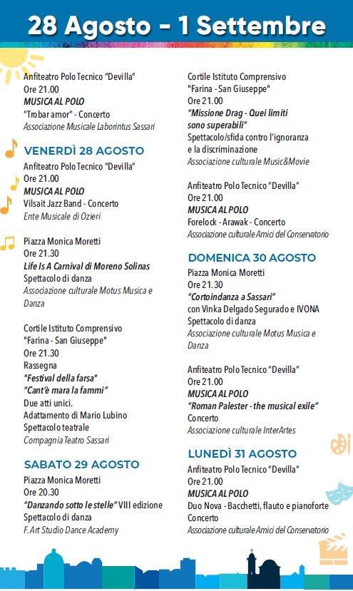 eventi_estate_sassari_28_agosto_1_settembre_2020