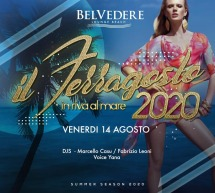 FERRAGOSTO IN RIVA AL MARE – BELVEDERE BEACH -QUARTU SANT'ELENA- VENERDI 14 AGOSTO 2020