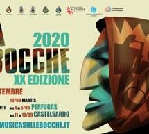 MUSICA SULLE BOCCHE – 16 AGOSTO – 13 SETTEMBRE 2020