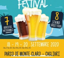 BEER & FOOD FESTIVAL – PARCO MONTE CLARO – CAGLIARI – 18-20 SETTEMBRE 2020