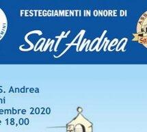 FESTA DI SANT'ANDREA – ASSEMINI – SABATO 19 SETTEMBRE 2020