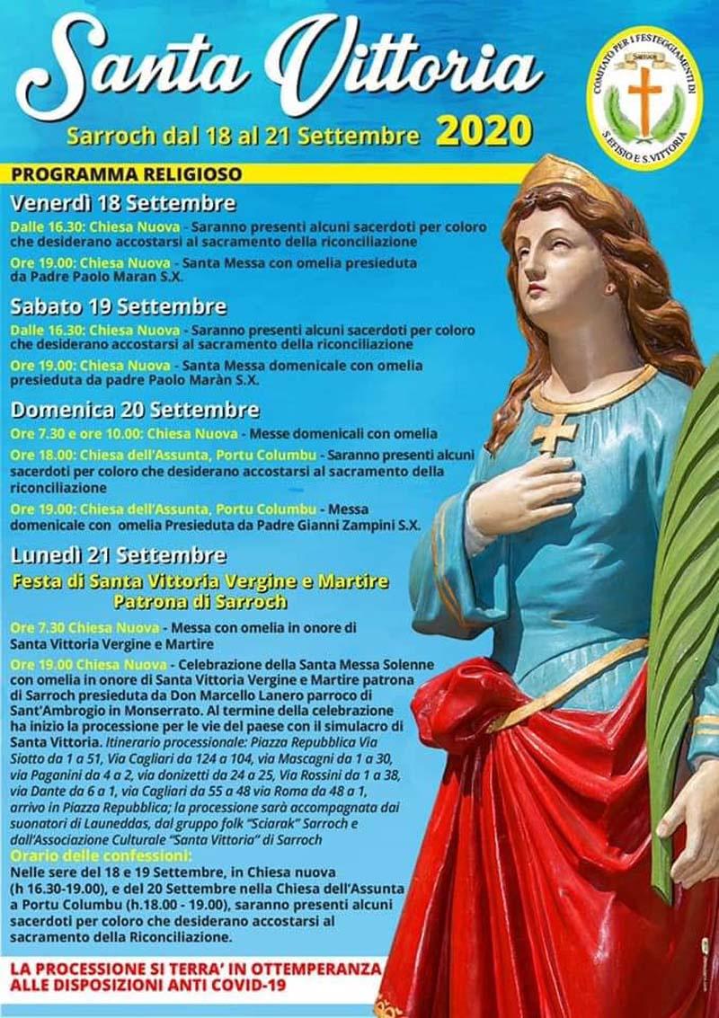 festa_santa_vittoria_sarroch_programma_2020
