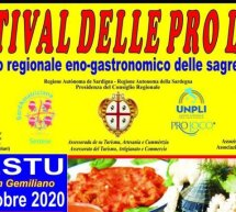 FESTIVAL DELLE PRO LOCO – SESTU – 3-4 OTTOBRE 2020