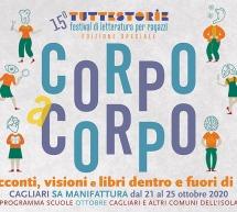 FESTIVAL TUTTESTORIE – EX MANIFATTURA – CAGLIARI – 21-25 OTTOBRE 2020