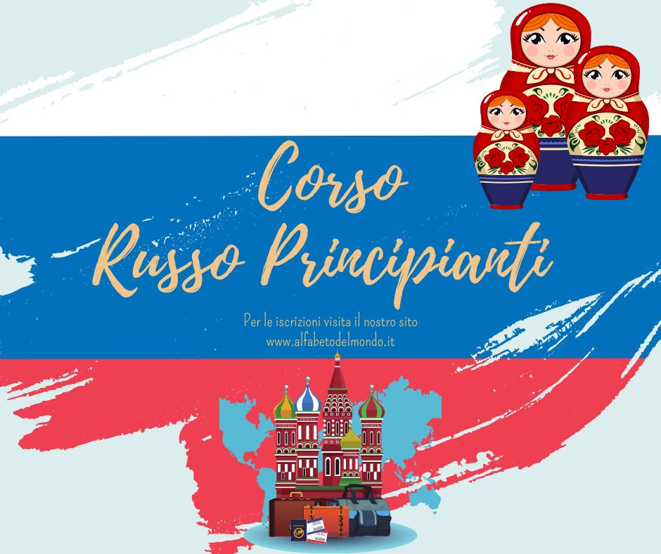 CORSO RUSSO ONLINE