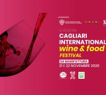 CAGLIARI INTERNATIONAL FOOD & WINE FESTIVAL – SA MANIFATTURA – 21-22 NOVEMBRE 2020