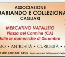 ANTIQUARIANDO E COLLEZIONANDO – MERCATINO NATALIZIO- CAGLIARI-6-13-20-27 DICEMBRE 2020