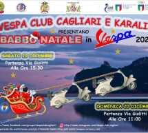 BABBO NATALE IN VESPA – CAGLIARI -19-20 DICEMBRE 2020