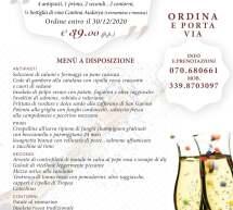 CENA DI SAN SILVESTRO – MENU D'ASPORTO ANTICO CAFFE' & MAMMA MIA – CAGLIARI – GIOVEDI 31 DICEMBRE 2020