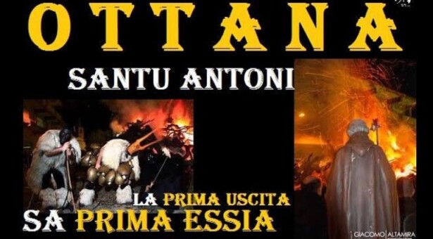 FUOCO DI SANT'ANTONIO ABATE – OTTANA – SABATO 16 GENNAIO 2021