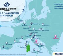 VOLA LA SUMMER EDITION 2021 DI RYANAIR DALL'AEROPORTO DI ALGHERO FERTILIA
