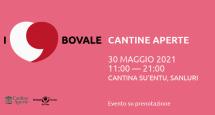 I LOVE BOVALE – CANTINA SU ENTU – SANLURI – DOMENICA 30 MAGGIO 2021