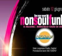 NONSOULFUNKY LIVE &  MARCELLO CASU DJ SET – CAPOLINEA BEACH – CAGLIARI – SABATO 12 GIUGNO 2021