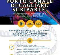 CINEMA SOTTO LE STELLE – PORTO CANALE SI RIPARTE – CAGLIARI – 20-21 LUGLIO 2021