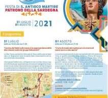 FESTA DI S.ANTONIO MARTIRE – SANT'ANTIOCO- 31 LUGLIO – 1 AGOSTO 2021