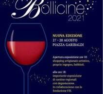 BOLLICINE 2021 – CAGLIARI – 27-28 AGOSTO 2021